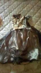 2 vestido de criancas