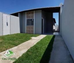 Casa com 2 dormitórios à venda, 80 m² por R$ 125.000,00 - Jabuti - Itaitinga/CE