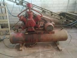 Compressor Wayne 60 pés Motor WEG 15cv revisado funcionando perfeitamente