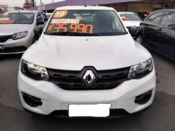 Renault Kwid 1.0 12v Sce Flex Zen 2018.2019 1.0 + Ipva 2020 Promoção 32.990,00 - 2018