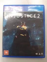 Jogo Ps4 Injustice 2 original, otimo estado
