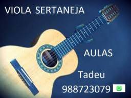 Aulas de Viola Sertaneja
