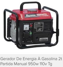 GERADOR DE ENERGIA TOYAMA na caixa