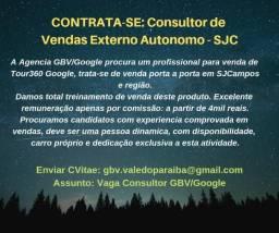 Consultor de Vendas Externo Autonomo - SJC