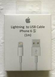 Cabo Lightning USB iPhone 1 Metro Novo na Caixa
