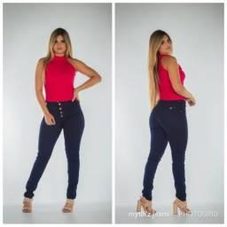 e8a4f4a26 Calça Jeans Feminina Cintura Alta - Atacado