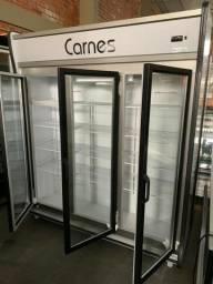 Auto serviço refrigerado para carnes 3 portas 220v seminovo