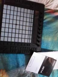 Ableton push para vinhetas e etc. sampler moderno
