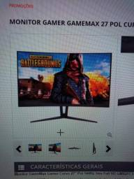 Monitor curvo 27 144hz gamemaxx