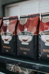 Café Moído ou Grão - 500 g   Café Reserva da Serra