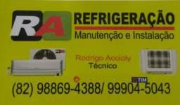 Promoção em instalação e manutenção de split