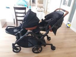 Vendo carrinho de bebê gêmeos