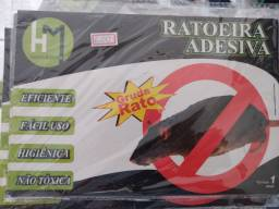 Ratoeira cola pega rato