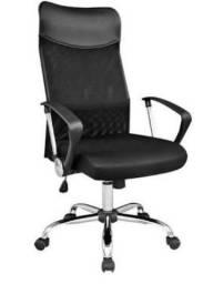 Título do anúncio: Cadeira Presidente Preta para Escritório - Muito confortável - Pronta Entrega