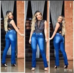 Calça Jeans Feminina Flare Premium