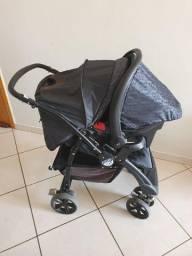Conjunto Carrinho de Bebê e Bebê Conforto AT-6. Burigotto