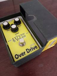 Pedal de Guitarra Over Drive Axcess Giannini
