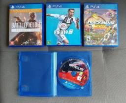Vendo 4 jogos ps4