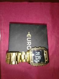 Relógio original euro.