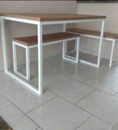 Mesas estilo industrial
