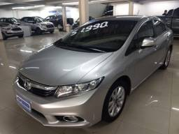 Honda civic lxr 2014 prata automatico