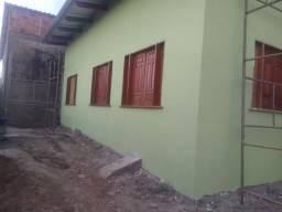 Construção de casas e pinturas