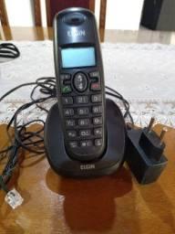 2 aparelho telefônico um sem fio e outro normal