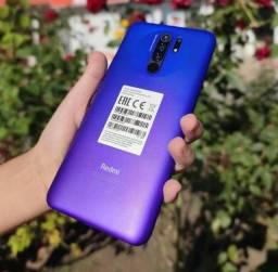 Redmi 9 64Gb/4Gb Purple e 32Gb/3Gb Green - Lacrados