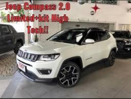 COMPASS 2019/2019 2.0 16V FLEX LIMITED AUTOMÁTICO