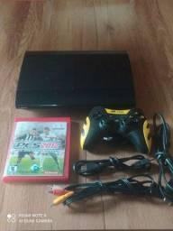 Playstation 3 super slim com vários jogos no HD originais