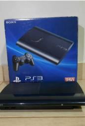 PlayStation 3 Slim 2 controles 8 jogos