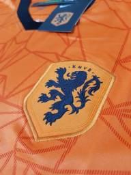 Camisa Holanda - Paises Baixos Uniforme 1