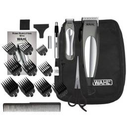 Kit Máquina de Corte Wahl Clipper Deluxe Groom Pro * - Cinza (220V)<br><br>