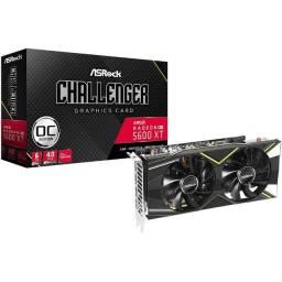 Placa de Vídeo ASRock AMD Radeon RX 5600 XT Challenger D OC, 6GB
