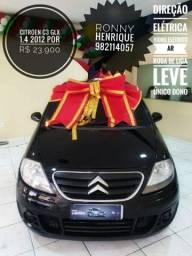 Citroen C3 glx 1.4 2012 por R$ 23.900