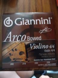 Conjunto de 4 cordas para violino