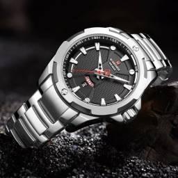 relógio de pulso original naviforce resistente a agua data funcional