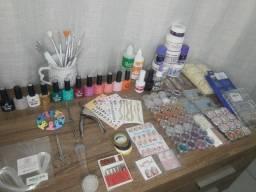 Kit completo Alongamento de unhas