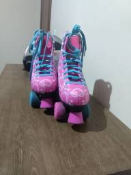 Vendo patins de número 38 por $200 ou troco por microondas