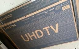 Smart Tv LED 50 4K Samsung UHD Comando de Voz Nova Lacrada na Caixa com Nota e Garantia