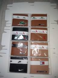 carteiras masculinas diversas marcas com porta cartão slin couro ecológico