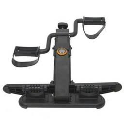 Mini bicicleta cicloergômetro dobrável com massageador e monitor WCT Fitness