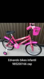 Bicicleta Aro16 de 3 até 6anos bem conservada * (entrega à combinar)