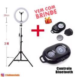 Entrega Grátis + Ring Light 26cm + tripé + Com Garantia