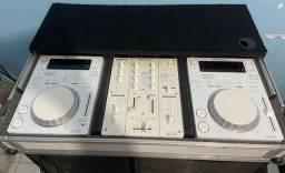 CDJ 350 WHITE kit edição limitada MUITO NOVOZ