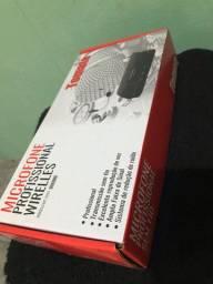 Microfone Profissional Wireless NOVO