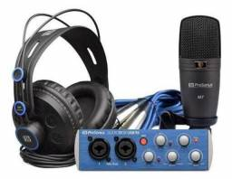 Kit Presonus Audiobox Usb 96 Studio Novo