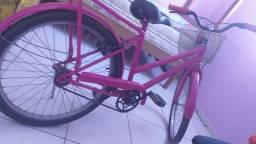 vendo uma bicicleta feminina seme nova