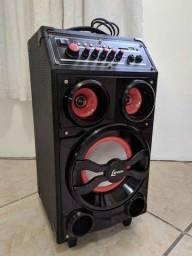 Vendo caixa de som Lenoxx 100w