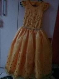 vestido de criança...10 anos de idade.